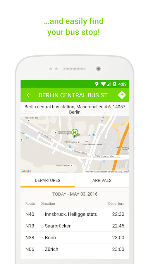 FlixBus - bus travel in Europe- screenshot