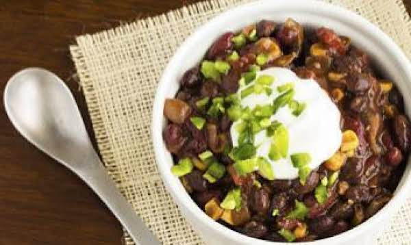 Slow Cooker Vegetarian Chili Recipe