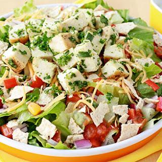 Healthy Fiesta Chicken Chopped Salad