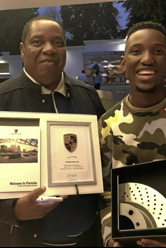 Robert Gumede Spoils Son With Porsche For Passing Matric-1535