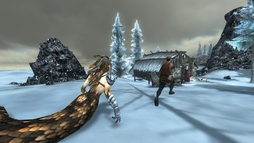 android Gorgon Simulator 3D Screenshot 0