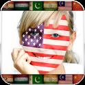 Face Flag Profile Photo icon