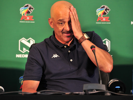 I made a blunder, says Galaxy coach Da Gama after heavy defeat to Sundowns - SowetanLIVE