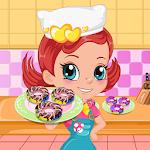 Baked Rainbow Doughnuts Icon