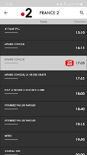 France TV Listing Guide Capture d'écran