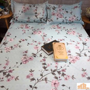 Quiet colors of bedspread