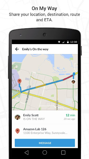 Scout GPS Navigation & Meet Up screenshot