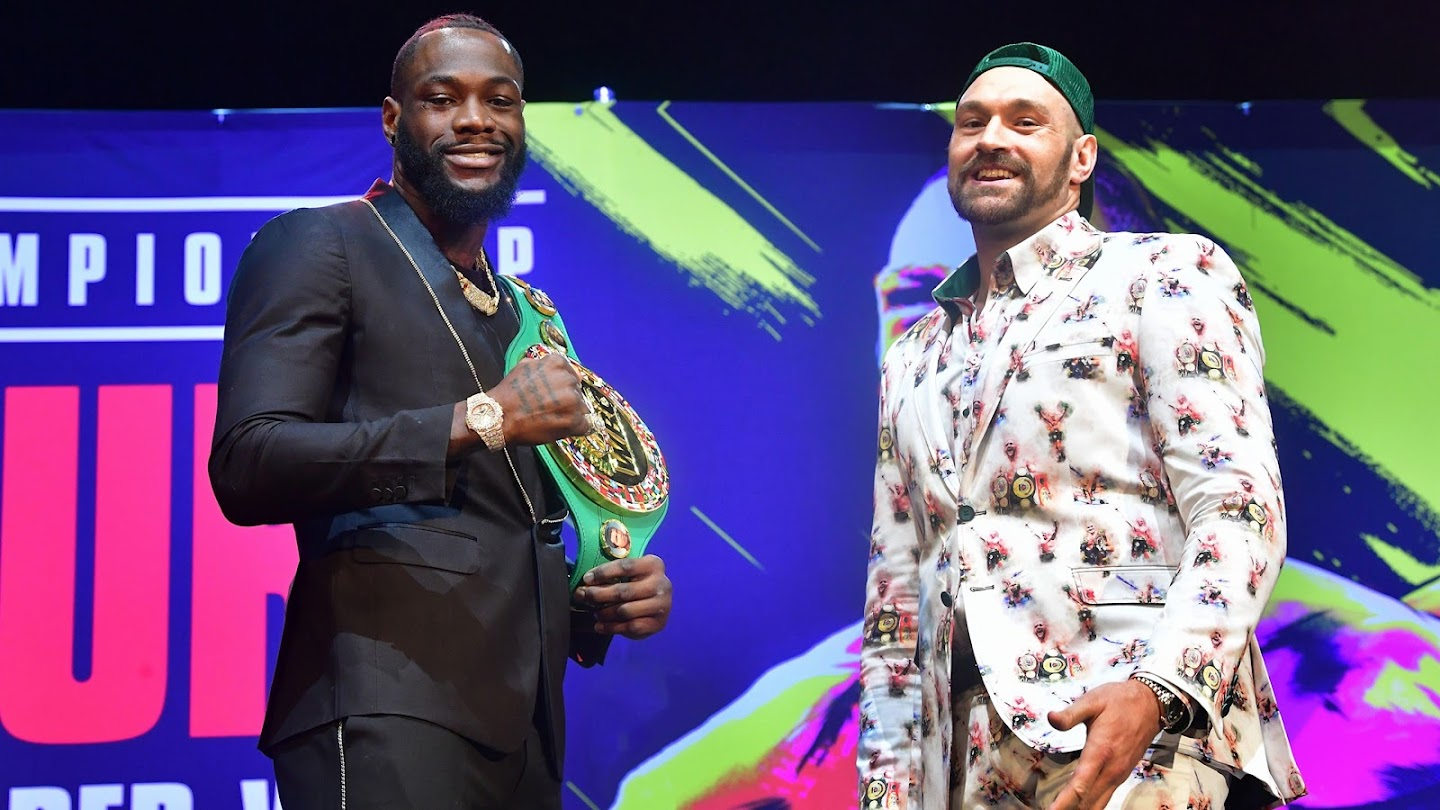 Watch Deontay Wilder vs. Tyson Fury II Press Conference live