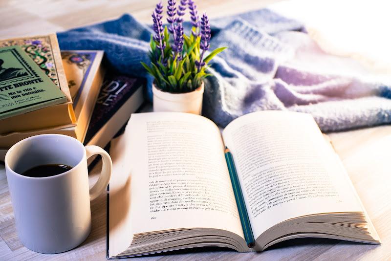 Io leggo qui. di Donatella Brusca