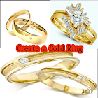 Create a Gold Ring icon