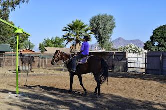 Photo: MC LyLy trên lưng ngựa thật oai