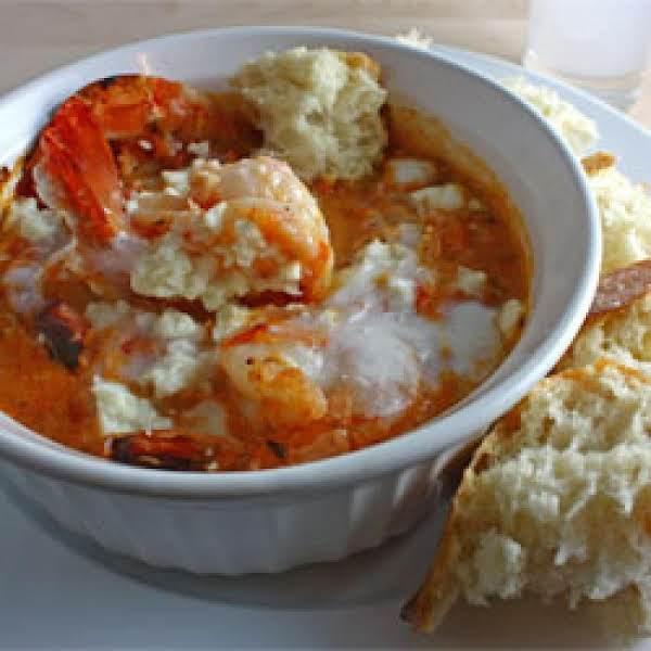 Shrimp Saganaki  (greek Shrimp) Recipe