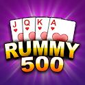 Rummy 500 card offline game icon