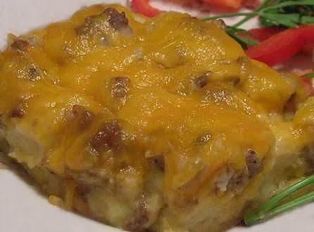 Sausage-mushroom Breakfast Casserole Recipe