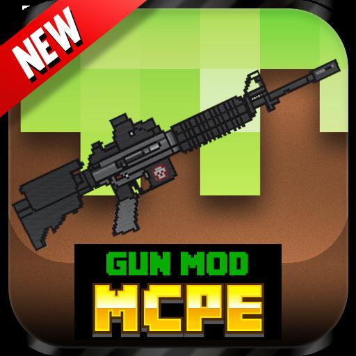 娱乐のGun Mod For MCPE! LOGO-記事Game