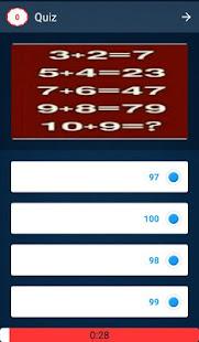 Math Quiz Game, Mathematics 8