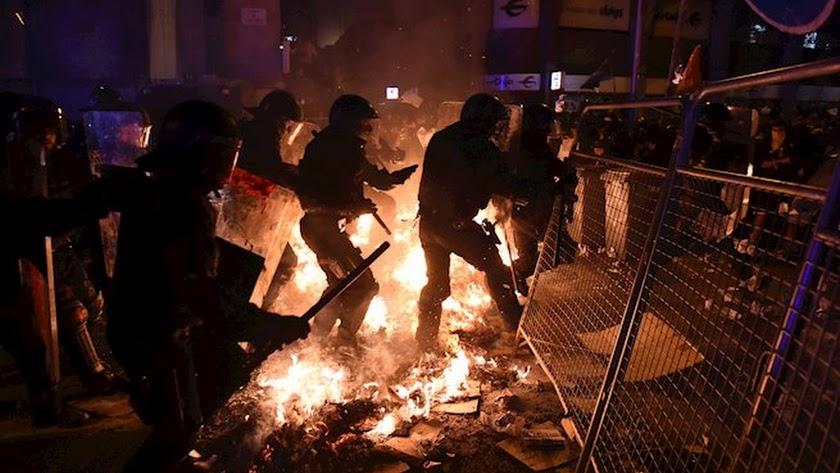 Jornada de tensión la de este martes en Cataluña.