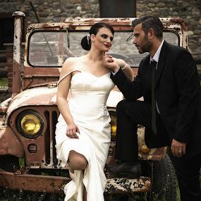 by Kine Akasi - Wedding Bride & Groom (  )