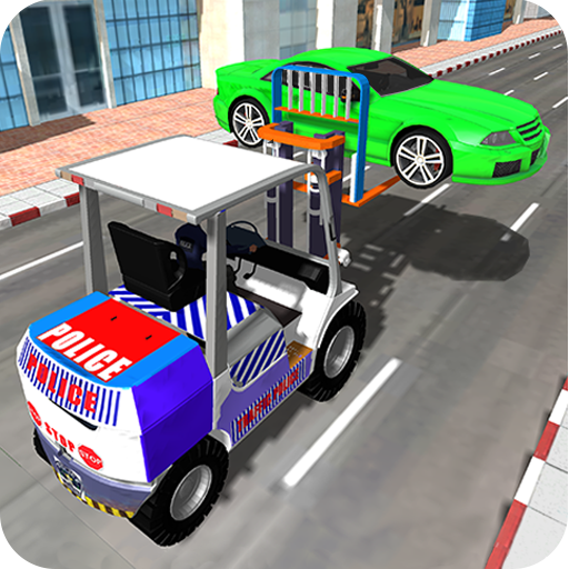 Police Car Lifter Game (game)