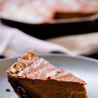 Sea Salt and Chocolate Skillet Sugar Pie