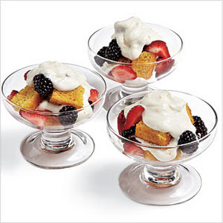 Mixed Berry Trifles