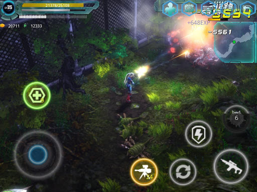 Alien Zone Raid screenshots 9