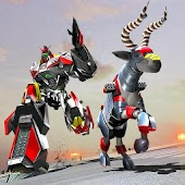 Real Robot Goat Simulator: Robot Transforming Game