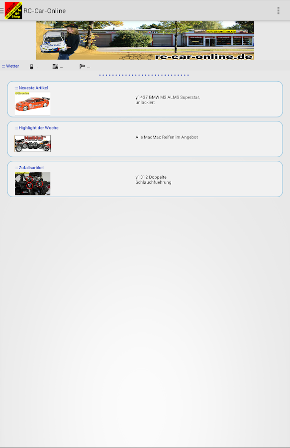 rc-car-online – Screenshot