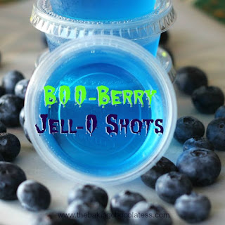 B00-Berry Jell-O Shots