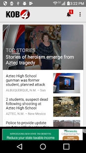 KOB 4 Albuquerque, New Mexico- screenshot thumbnail