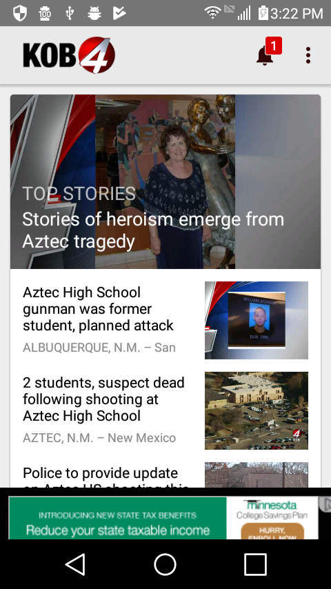 KOB 4 Albuquerque, New Mexico- screenshot