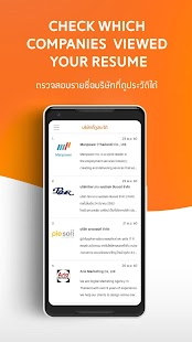 JobThai Job Search- screenshot thumbnail