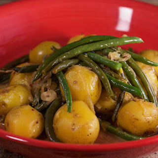 Cooked-to-Death-Delicious Green Beans with Potatoes