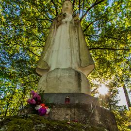 Fatima  by Alexandre Mestre - Buildings & Architecture Statues & Monuments ( church, braga, sanctuary, portugal, fatima, sameiro )