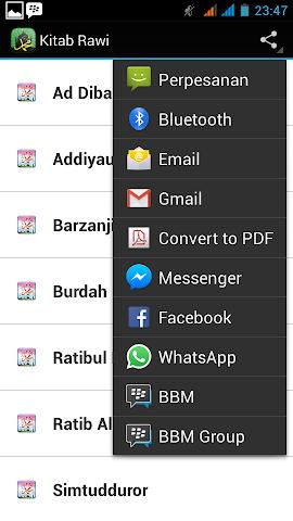 android Kitab Maulid Screenshot 2