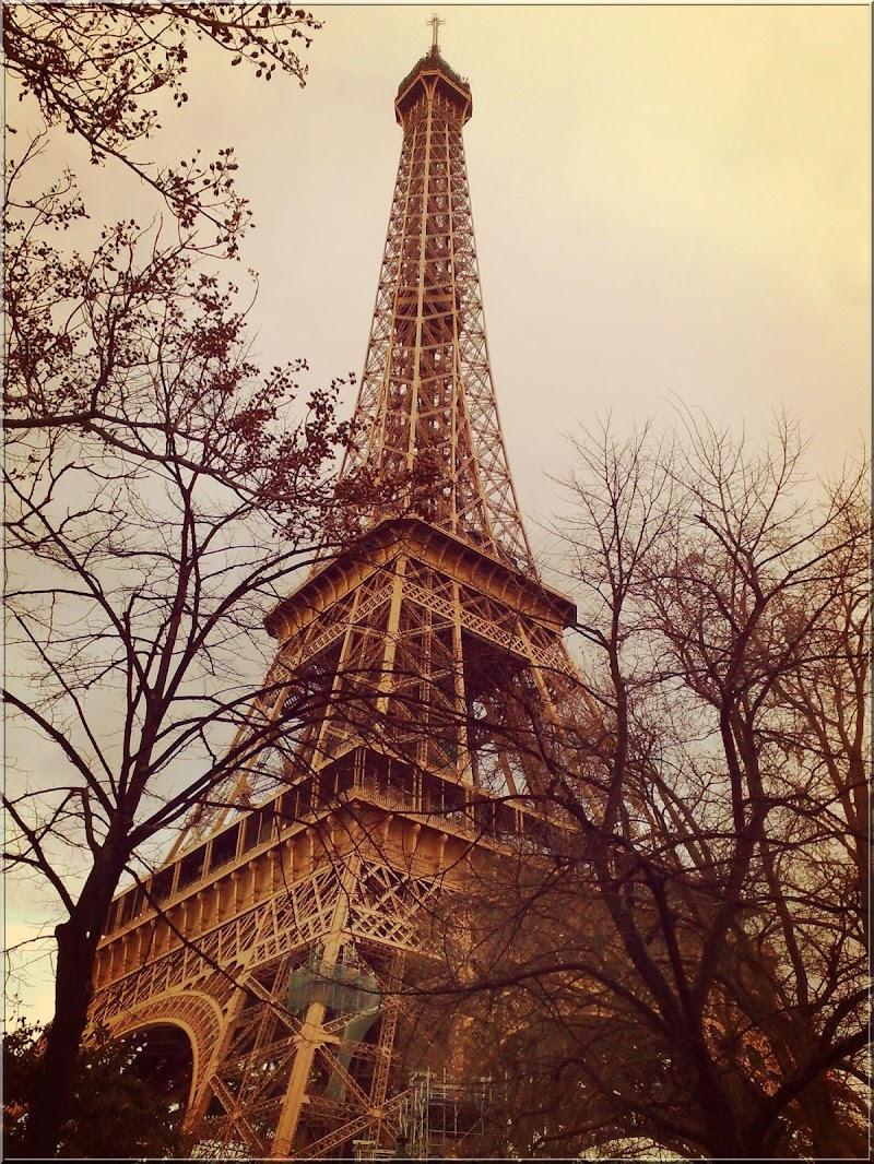 Aux pieds de la Tour Eiffel di martapdn