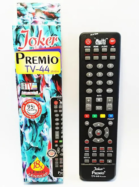 kode tv coocaa di remote joker