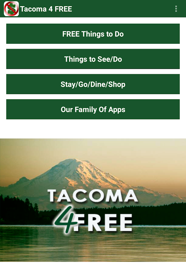 Tacoma 4 Free-Things 2 See/Do- screenshot