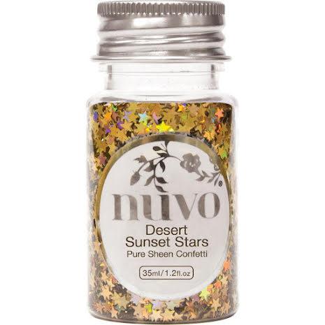 Tonic Studios Nuvo Confetti 35ml - Desert Sunset Stars 1060N