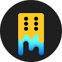 Merged Dice - Match 3 Puzzle icon
