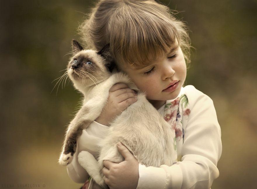 ผลการค้นหารูปภาพสำหรับ เด็ก กับแมว