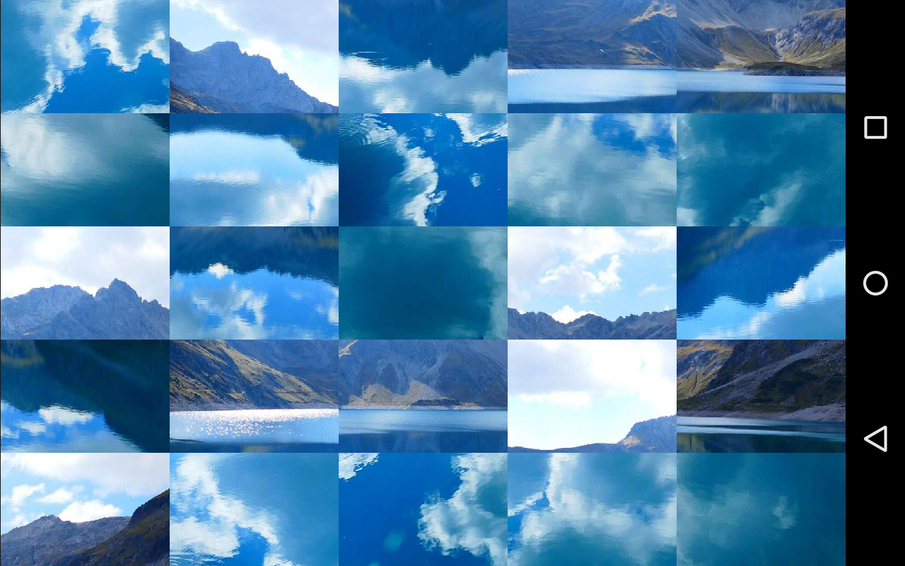 Tile Puzzles · Lakes- screenshot