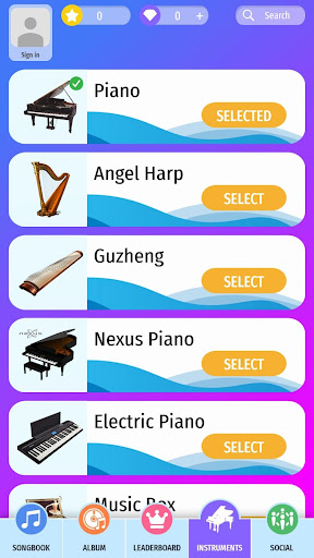 Piano Beat: Tiles Touch 2.9 screenshots 4