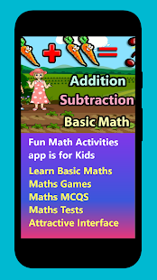 Fun Math Activities Screenshot