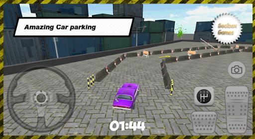 Real Purple Car Parking