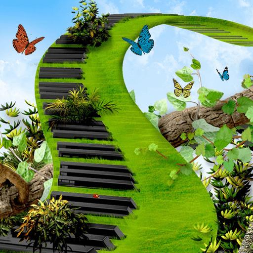 蝴蝶綠鋼琴 漫畫 App LOGO-APP開箱王