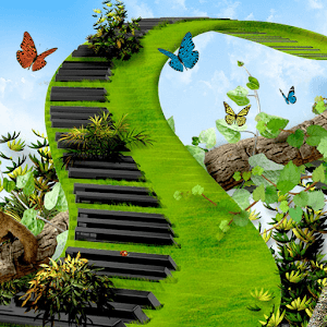Butterfly Green Piano