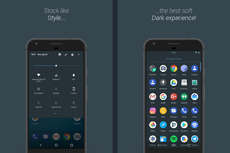 [Substratum] DestinyDark Theme Screenshot