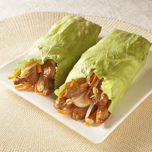 Teriyaki Pork Lettuce Wraps