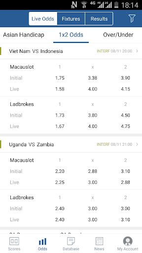 7M Live Scores Pro - News&Data ss2
